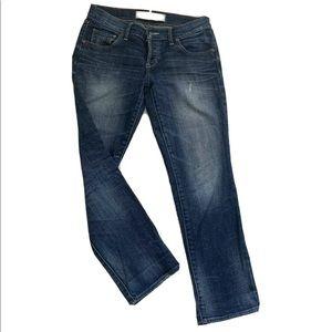 Abercrombie Crop Perfect Stretch jeans Dark 2/26